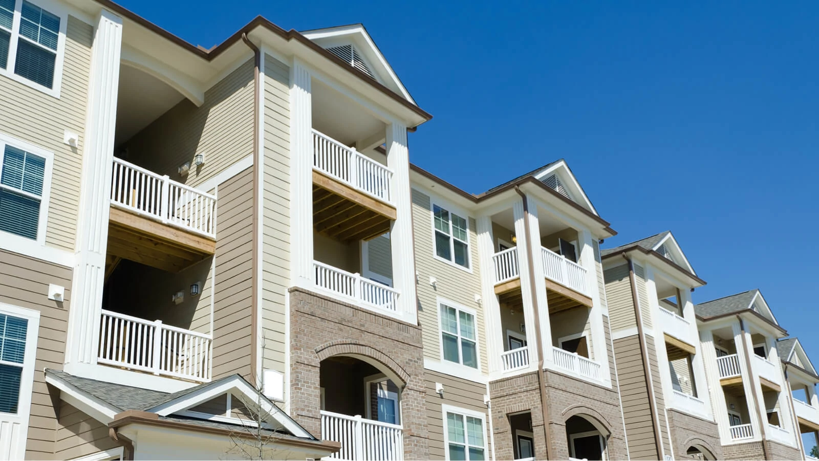 photo of multifamily building